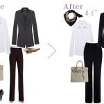 20代新入社員女性のスーツスタイル、派手にならない範囲のおしゃれとは