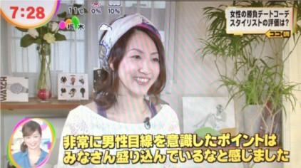めざましテレビに弊社代表スタイリストrisaが出演しました