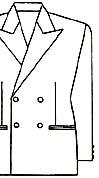 スーツの着こなし・選び方「ダブル・ブレスト」