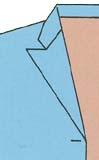 スーツの着こなし・選び方「セミピークドラペル」