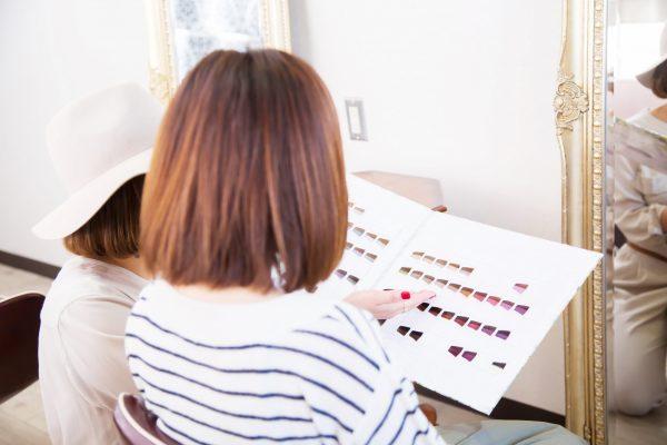 パーソナルカラーをヘアスタイルに活かす